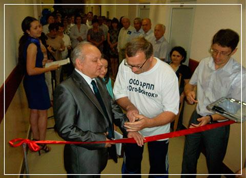 Открытие спортивно-оздоровительного комлекса «ПАРАОЛИМП» на базе Альметьевского РПП «Юго-Восток»