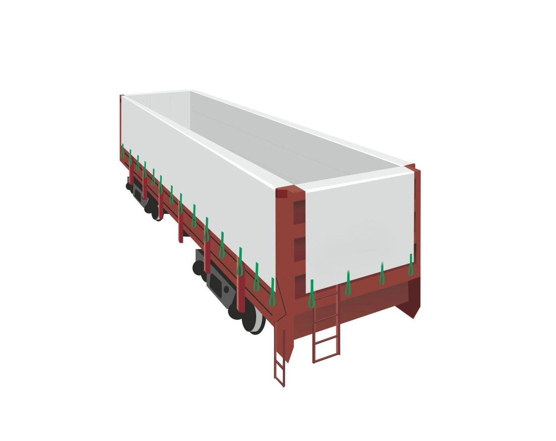 Производство вагонных вкладышей из ламинированной полипропиленовой ткани